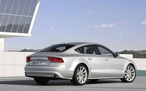 The A7 aims to provide the company with a stylish but practical rival to contemporary four-door luxury cars such as the Jaguar XF and the second-generation Mercedes-Benz CLS.