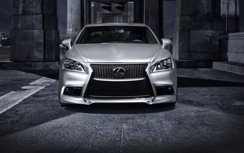 The LS 460 F Sport starts at $75,830 while ours came in at $88,029