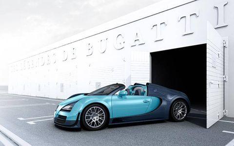 In true Bugatti fashion, it's limited to three examples.