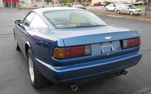 The 1991 Aston Martin Virage cribbed its taillights from the Volkswagen Scirocco.