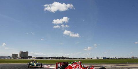 2011 IndyCar Edmonton, Canada: Dario Franchitti
