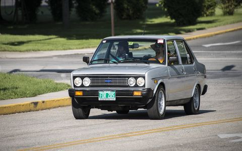 This Fiat 131S Supermirafiori from 1978 is a frequent visitor to the show.