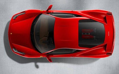Automotive design, Vehicle, Automotive exterior, Red, Car, Supercar, Sports car, Automotive lighting, Automotive parking light, Carmine,