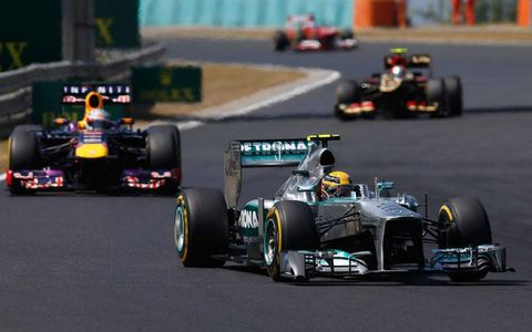 Lewis Hamilton won the Hungarian Grand Prix on Sunday by more than 10 seconds.