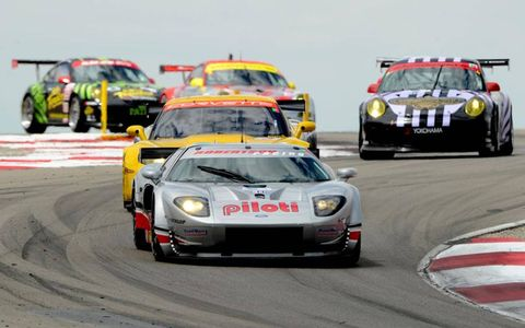 9-11 July, 2010, Tooele, Utah, USA #40 Robertson Racing's Ford GT