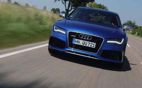 With about 552 brake hp, the 2014 RS7 also happens to be the most powerful Audi yet offered in North America