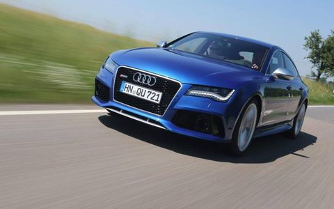 The RS7 is pulled from the A7 line and hand-finished in Neckarsulm, Germany