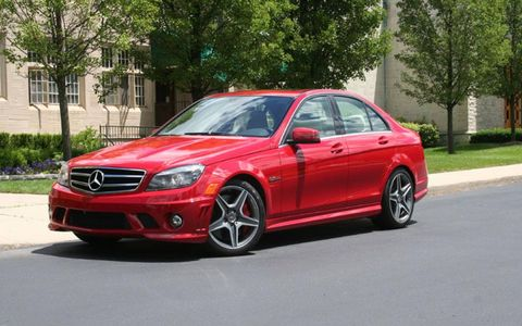 Driver's Log Gallery: 2010 Mercedes-Benz C63 AMG