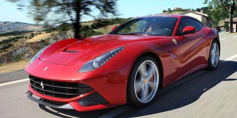 The Ferrari F12 berlinetta replaces the 599 in the Italian car maker's lineup.