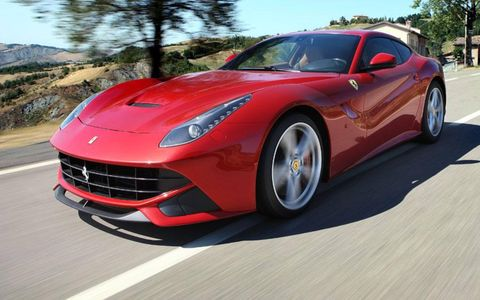 The Ferrari F12 berlinetta replaces the 599 in the Italian car maker's lineup.