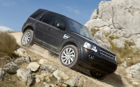 The LR2 starts at $37,250 while ours was optioned at $44,200