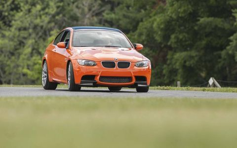 A 4.0-liter V8 making 414 hp and 295 lb-ft of torque propels the M3
