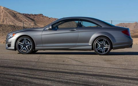 We liked the matte finish on the Benz; it's refreshing from the typical glossy paint jobs