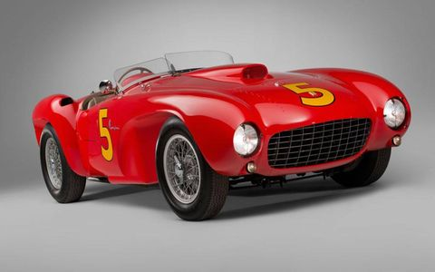 How much is this 1953 Ferrari 375 MM Spider by Pinin Farina worth? If you have to ask...