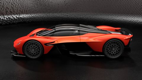 The Aston Martin Valkyrie is now confirmed to make 1,160 hp from its V12 and battery-electric system.