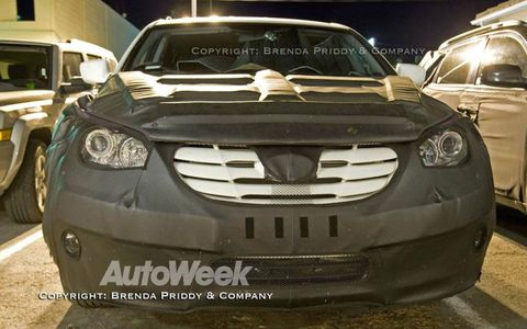 Spied: 2010 Hyundai Portico