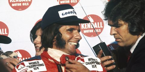 Emerson Fittipaldi is a two-time Formula One champion.