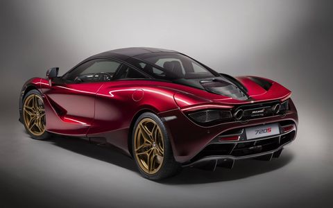 Yes, there is already a special edition of the McLaren 720S.