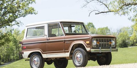 This Ford Bronco Ranger from 1976 will be the counterpoint to Toyota FJ40 mania.