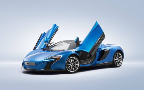 This one off 650S Spider was built by McLaren Special Concepts (MSO)