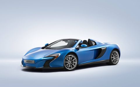 The car was designed in collaboration with McLaren designer Frank Stephenson and McLaren of Newport Beach.