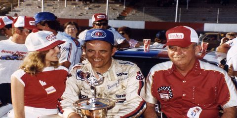 The late Benny Parsons is a favorite to be elected into the NASCAR Hall of Fame on Wednesday.