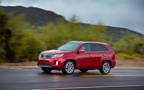 The 2015 Kia Sorento SX fulfills all the duties of a three-row CUV with aplomb.