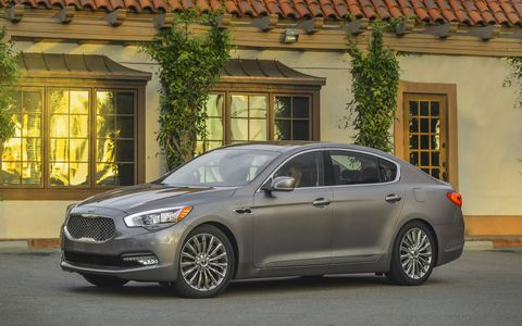 Kia has only managed to sell 950 K900's so far.