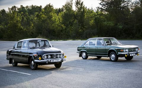 The Tatra 603 and Tatra 613 are finding new fans a long way from home.