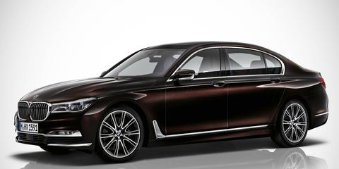 BMW Individual showcases exclusive materials in the 2016 7-series.