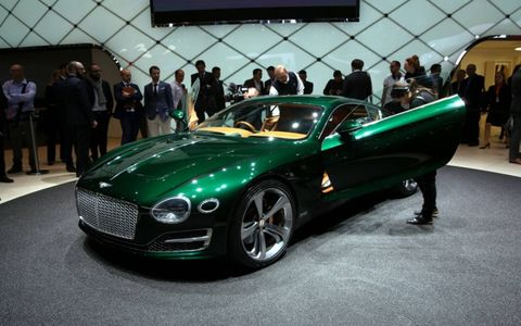 Bentley revealed the EXP 10 Speed 6 concept at the 2015 Geneva motor show.