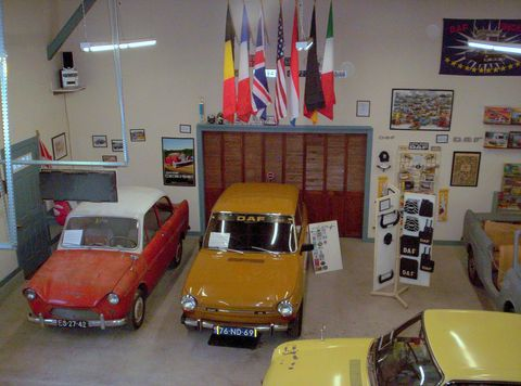The DAF Musuem can be found in Mount Tabor, Vermont -- and is worth the trip if you want to check out this obscure Dutch automaker's past.