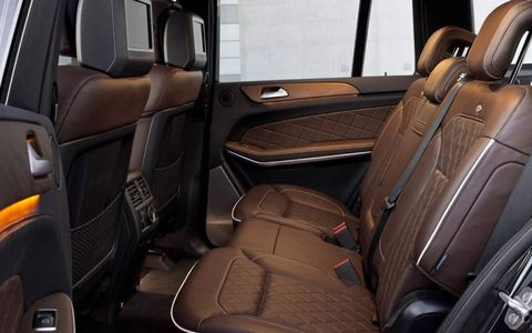 The 2013 Mercedes GL interior is among the best available.