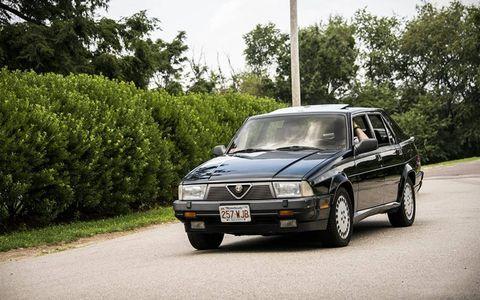 A sharp Alfa Romeo Milano.