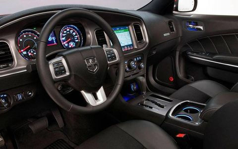 Our interior was simple and spartan, with the only thing we really opted for was the navigation system