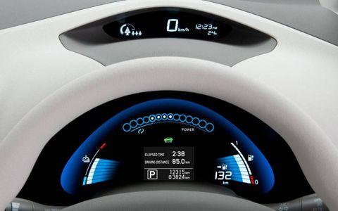 Motor vehicle, Blue, Automotive design, Car, Fender, Gauge, Technology, Machine, Speedometer, Electric blue,