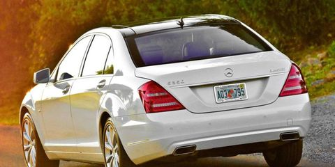 This Benz starts at $93,905 while ours stickered in at $108,660