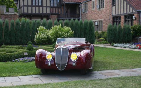 1939 Delahaye 165 Cabriolet by Figoni & Falaschi