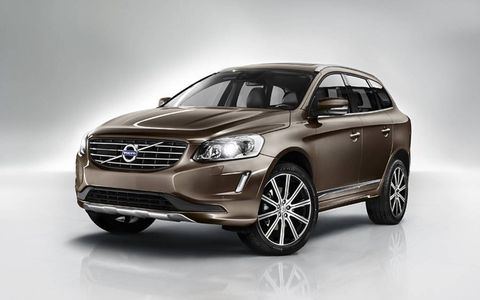 The popular XC60 has been given a nice freshening for the 2014 model year.