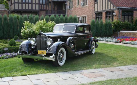 1934 Packard V-12 Sport Sedan by Dietrich