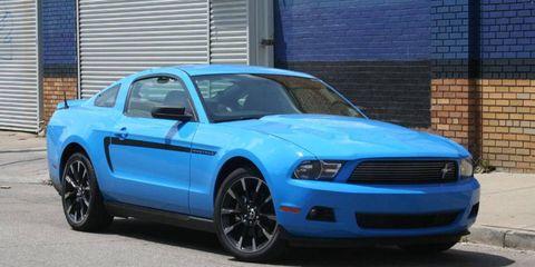 AutoWeek's Grabber Blue 2011 Ford Mustang V6, a cruiser's dream