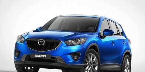 The Mazda CX-5 will bow at the Frankfurt Motor Show