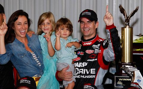 Sunday was a big day for the Gordon family at Pocono.