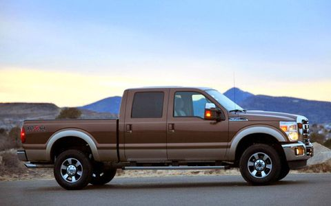 Driver's Log Gallery: 2011 Ford F-250 Super Duty