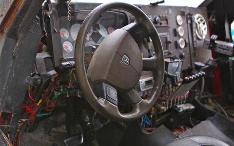 The Ram steering wheel remains.