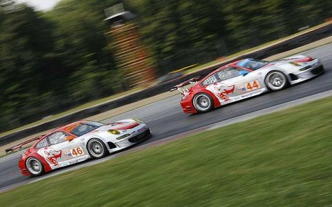 Flying Lizard team