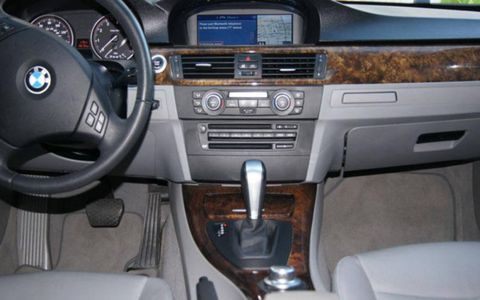 Eh, for a 3-series with over 100k miles on it, the interior is pretty decent.