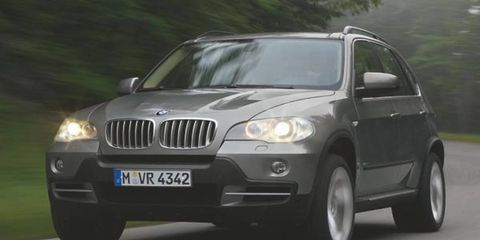 We showed you reader spy shots of BMW's second-gen X5 earlier this summer (AW, June 12); now BMW is releasing official photos of the 2007 ute destined to do battle later this year with the Mercedes-Benz M-Class and Audi Q7. Evolutionary exterior styling hides a fully reworked interior boasting an optional third seat row and space for seven-a first for BMW. Engines include 3.0-liter 272-hp inline six-cylinder and a 4.8-liter 355-hp V8-the latter providing 0-62-mph acceleration in 6.5 seconds.