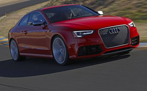 The 2013 Audi RS5 packs a V8 and a sticker price just under $70,000.