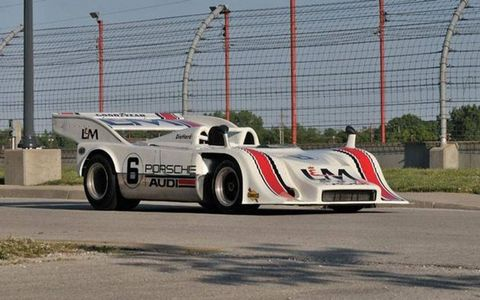 This L&M-liveried Porsche 917 offered by Mecum could set a new record for the highest price paid for a Porsche at auction.